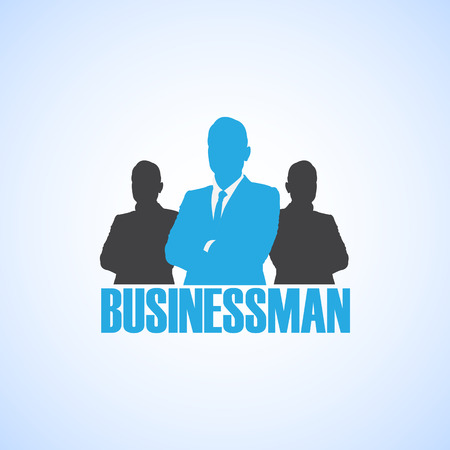 zakenman Stock Illustratie