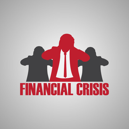 financial crisis: financial crisis Illustration