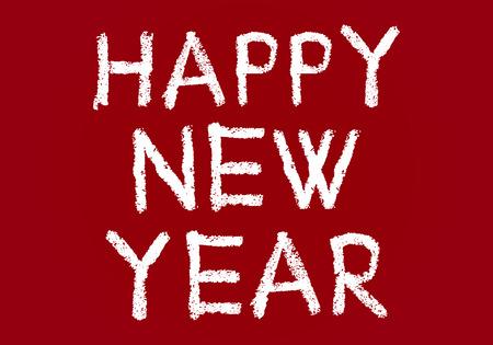 gelukkig nieuwjaar achtergrond Stock Illustratie