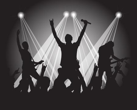 heavy metal muzikanten