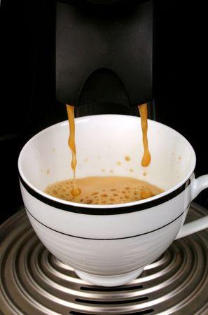 percolate: Making Coffee 1 Stock Photo