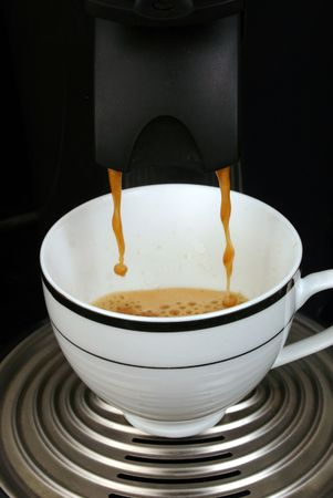 percolate: Making coffee 2 Stock Photo