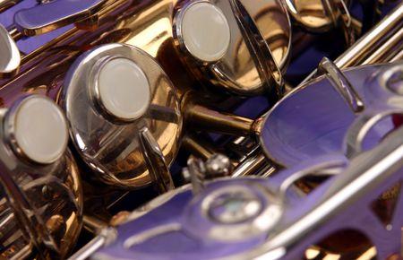 abstract alto saxophone photo