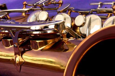 abstract saxophone photo