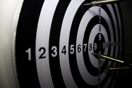 Darts board Stock Photo - 17691159