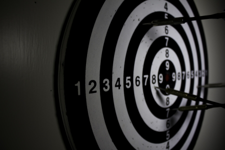 Darts board Stock Photo - 17691158