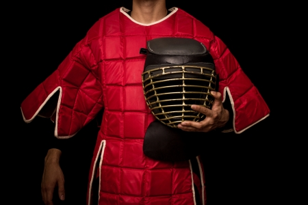 Eskrima practinioner in body armour Stock Photo - 22964559
