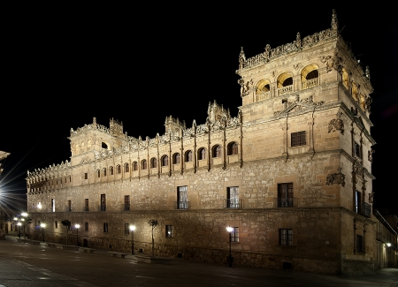 exponents: Monterrey Palace in Salamanca  Spain  is one of the greatest exponents of the art style plateresco in Spain