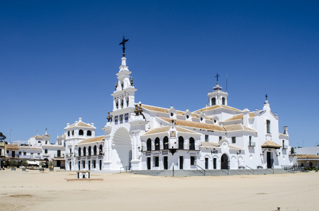 Aldea del Rocio, Huelva, Spain Reklamní fotografie - 58092274