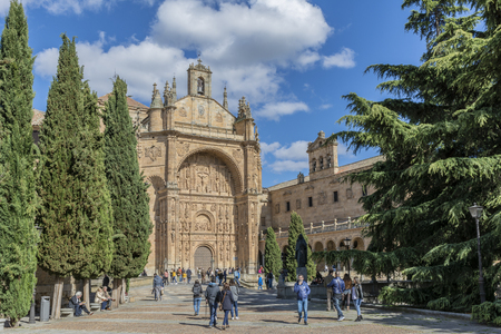 St. Stephen's Church of the Dominican fathers  Salamanca Spain Editorial