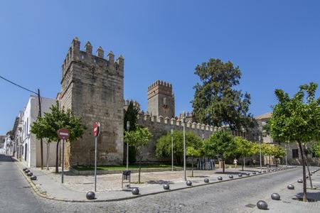 El Puerto de Santa Maria, Cadiz, Spain, July 2017: Castle of San Marcos in El Puerto de Santa Maria in the province of Cadiz