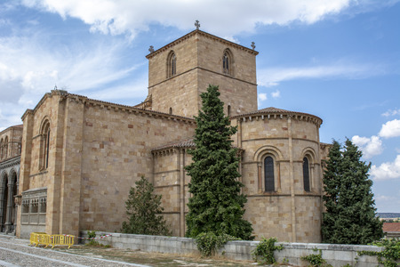 The Basilica of Saint Vincent is a Romanesque church located in Avila, Spain, the largest and most important city after the Cathedral