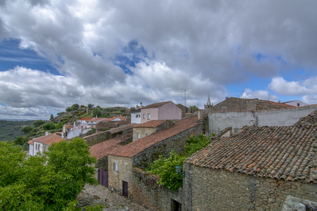 Castelo Mendo, historical village inte the district of Guarda. Portugal. Concept for travel in Portugal