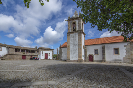 church and Headquarters of Lord Wellington in Freineda, Portugal.