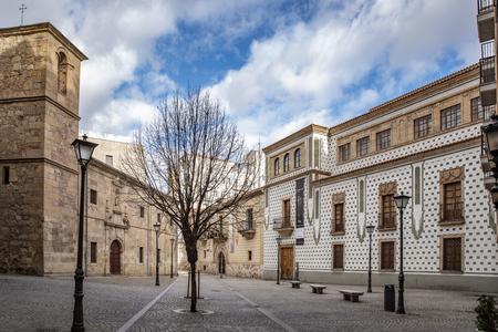 Salamanca, Spain; January, 2019: square of San Boal in historical city center of Salamanca ,    Heritage Site Editorial