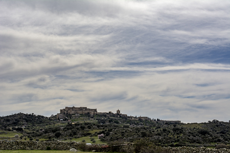 View of Trujillo Village in the province of Caceres, Spain Stock Photo