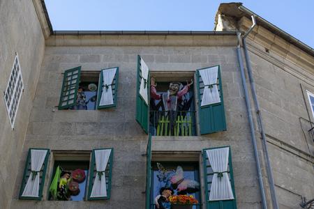 Lugo, Galicia, Spain; April 2015: Beautiful Facade Of A Witch souvenirs Store In Lugo. Editorial