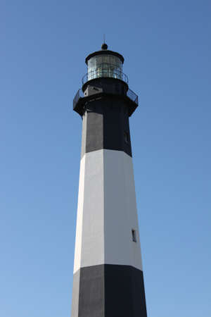 tybee island: The lighthouse at Tybee Island, Georgia