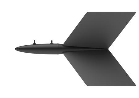Aerial Bomb on white background Reklamní fotografie