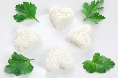 İtalyan mutfağı: rice healthy italian cuisine Stok Fotoğraf