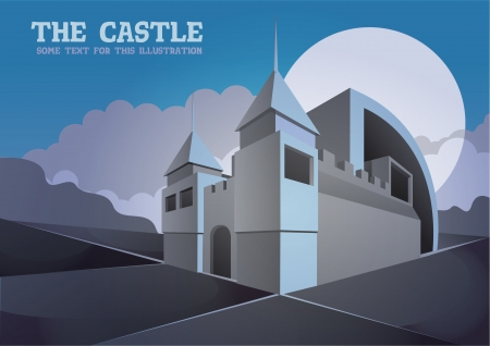 castle in the wasteland