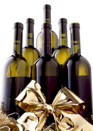 Wine Sextet Present Stock Photo - 7109514