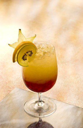 intoxicating: Shirley Temple Mocktail