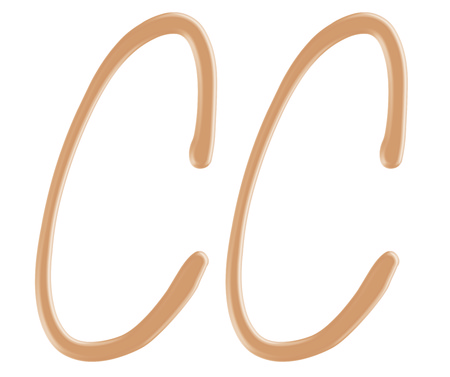 cc: Color correcting cream foundation in CC character style
