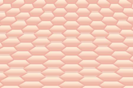 Humano profundo fondo textura de la piel Vectores