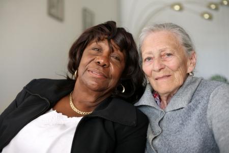 Senior vrouwen vrienden