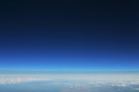 The Earth's Stratosphere Stock Photo - 2483503