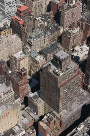 rooftop: Weergave van het Empire State Building