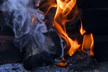 hellish: Fire Stock Photo