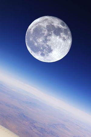 stratosphere: Full Moon Over Earths Stratosphere