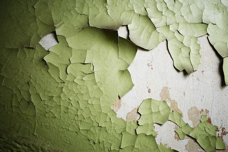 Old paint peeling from wall texture background Stock Photo - 2602511
