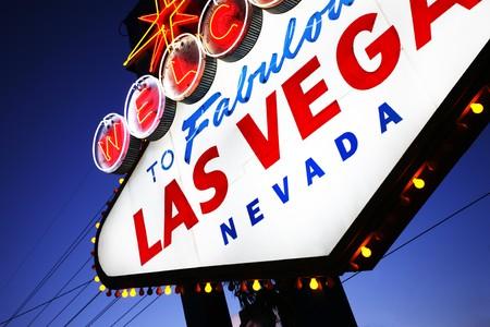 Welcome to Las Vegas sign close-up. Las Vegas, Nevada, USA Stock Photo - 4238074