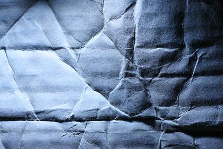 rumple: Wrinkled old cardboard paper background Stock Photo
