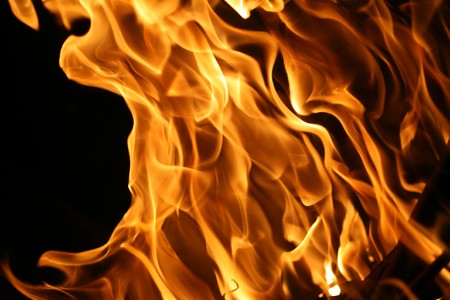 hellish: Fire flames background texture