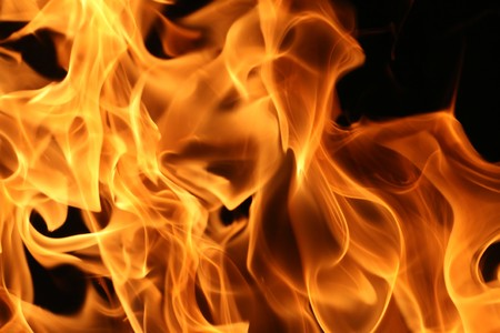 blazing: Fire flames background texture