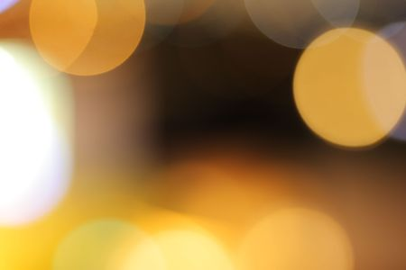 Bokeh circles. Abstract defocused background. photo