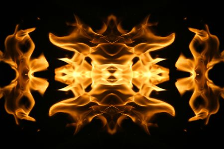 hellish: Beautiful fire flames background texture