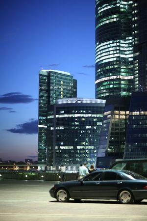 現代の都市ビジネス アーキテクチャ