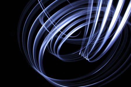 Dynamic light. Abstract background design Stock Photo - 5948401
