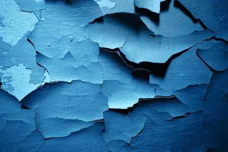 Old paint peeling from wall texture background Stock Photo - 6437053