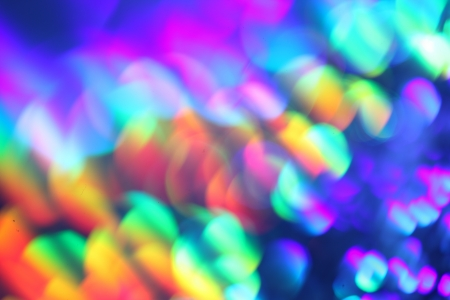 holography: Abstract colorful blur background