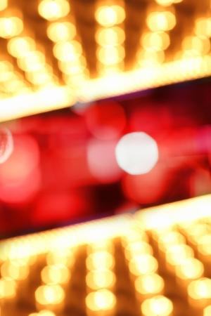 illuminated: Abstract illuminated bokeh lights background Stock Photo