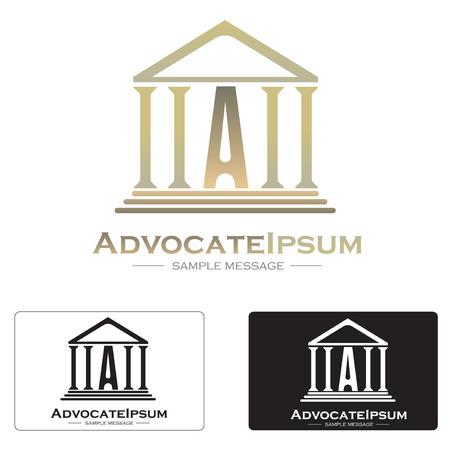 Creative law icon concept symbol illustration icon.