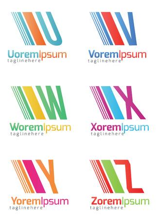 alphabetical: Alphabetical Icon Design Concepts