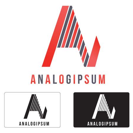 Alphabetical Icon Design Concepts.