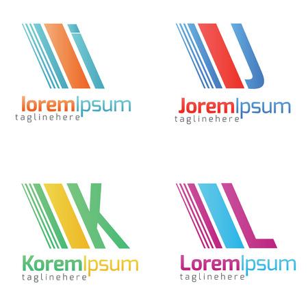 alphabetical: Alphabetical Icon Design Concepts . Illustration